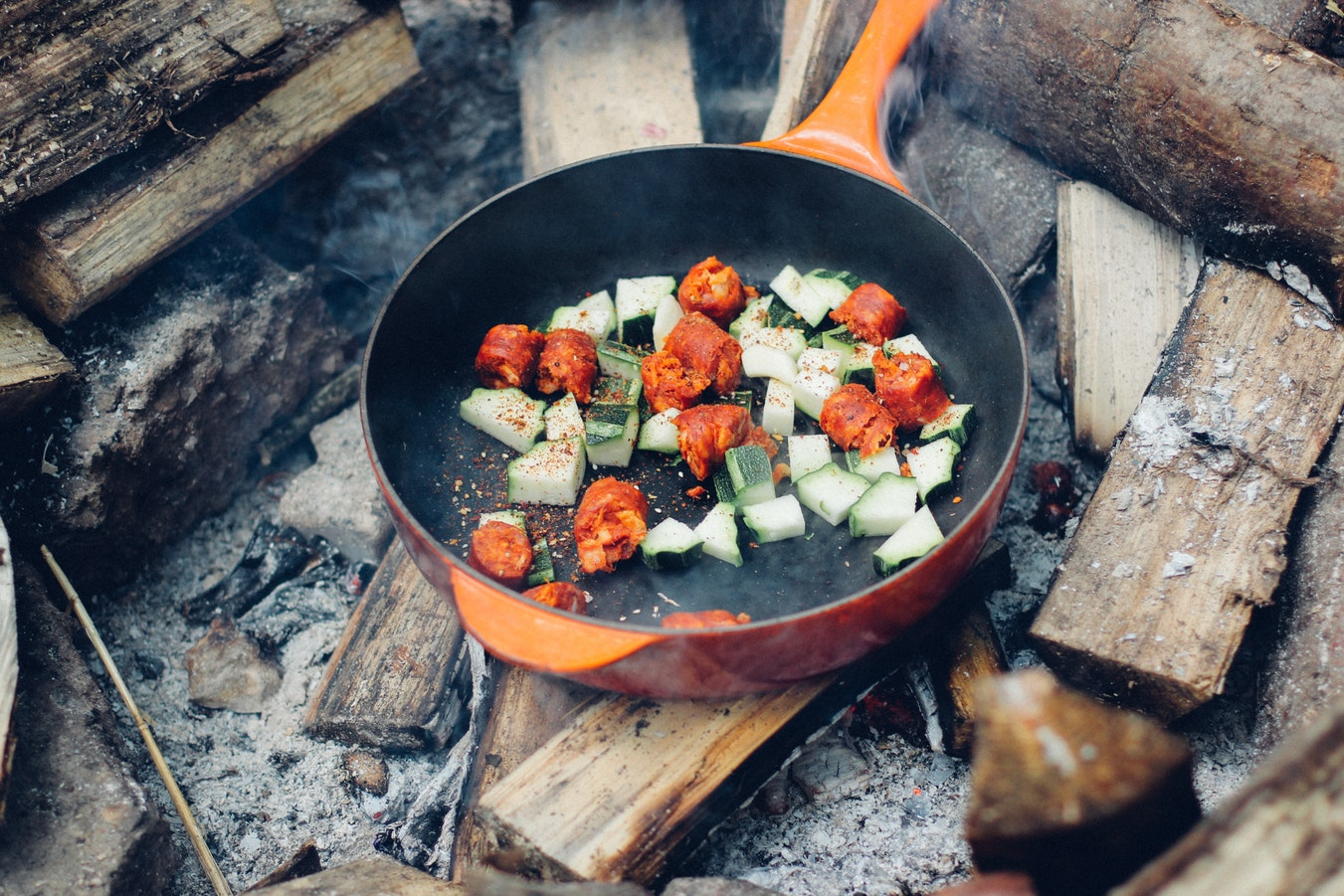 Easy delicious campfire meal idea