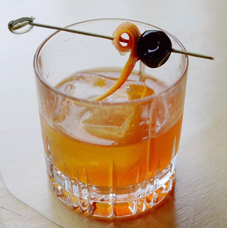 A JuneBaby original and creative mixed coctail