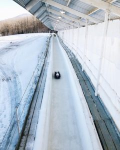 Lake Placid New York Bob Sledding