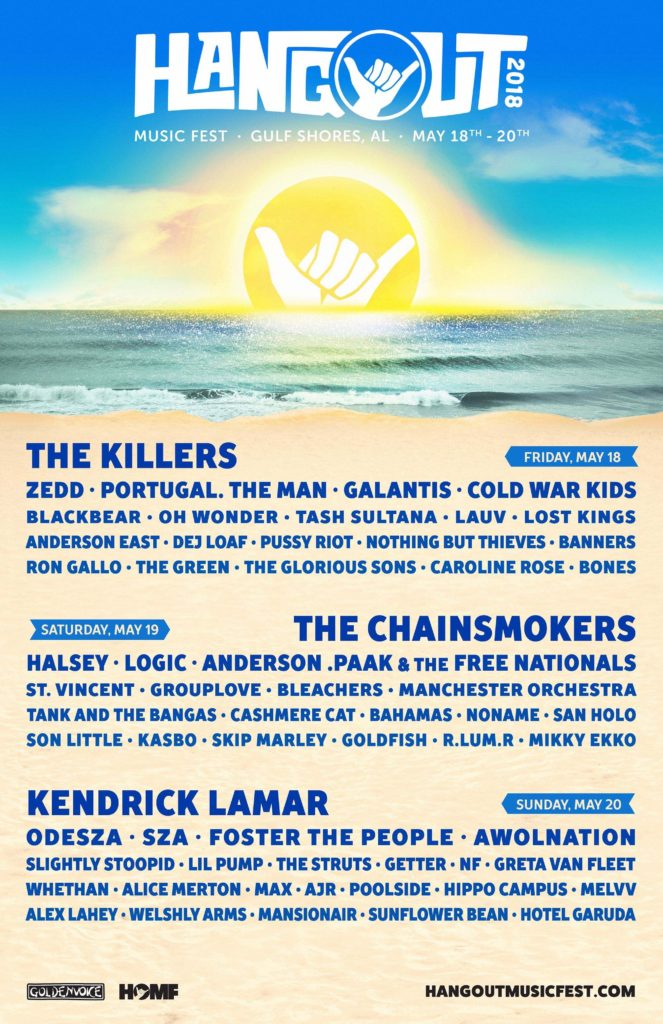 Hangout music festival Gulf Shores Alabama events