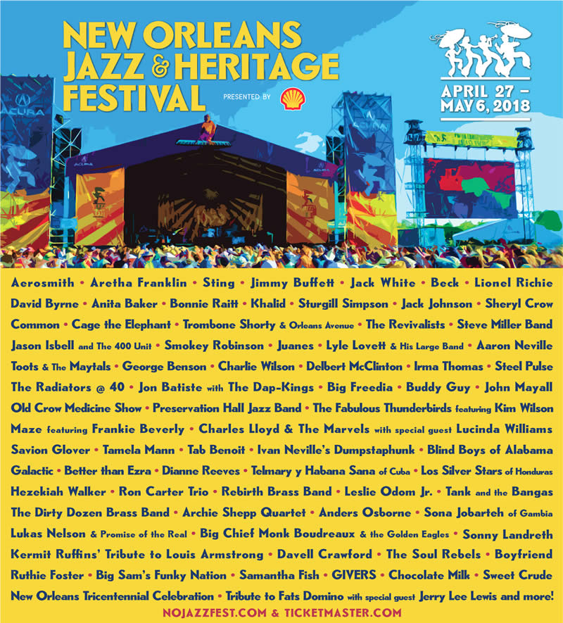Jazz and Heritage Festival New Orleans Events