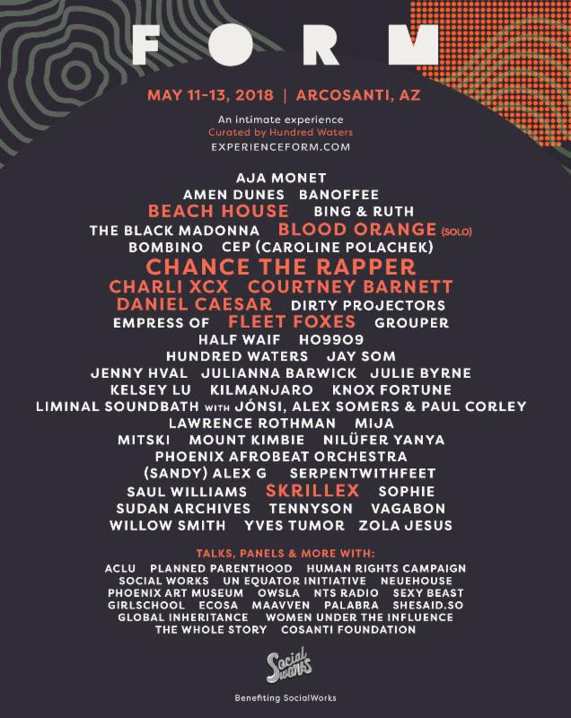 Form Music Festival Arcosanti Arizona Events