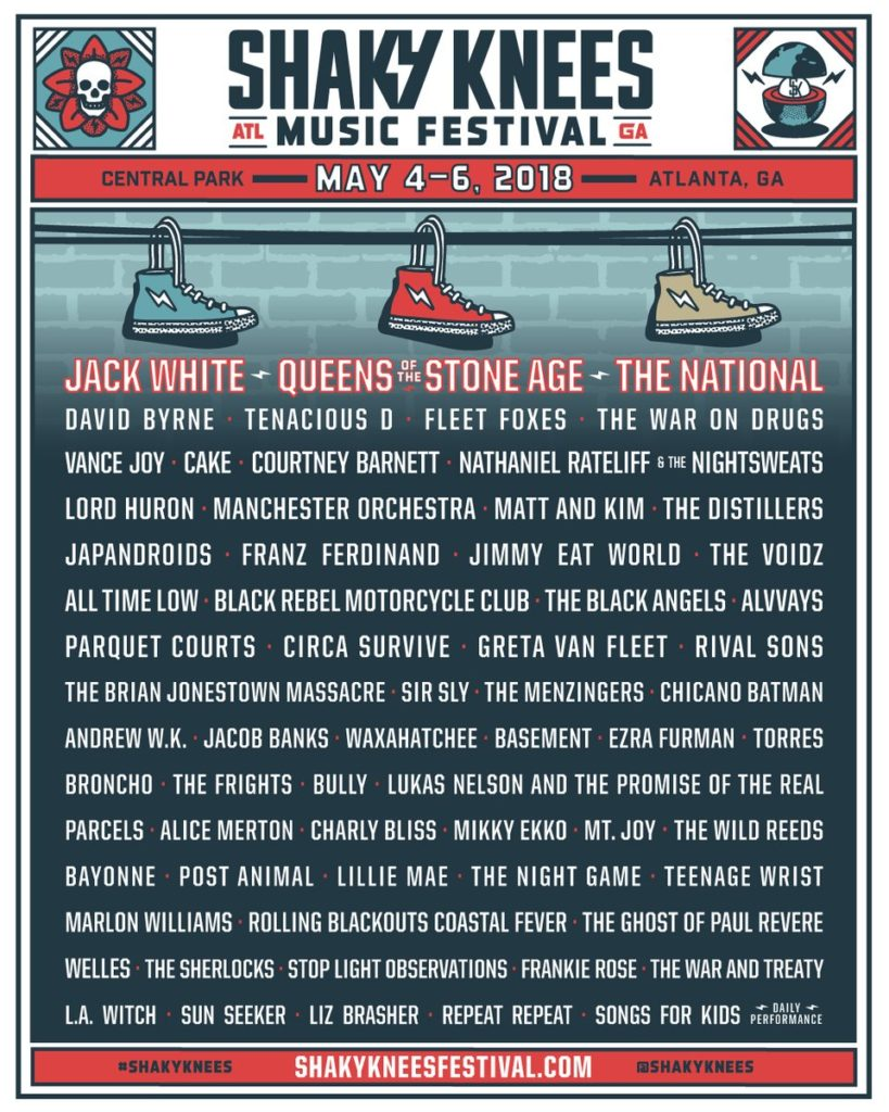 Shaky Knees Music Festival Atlanta Georgia Events