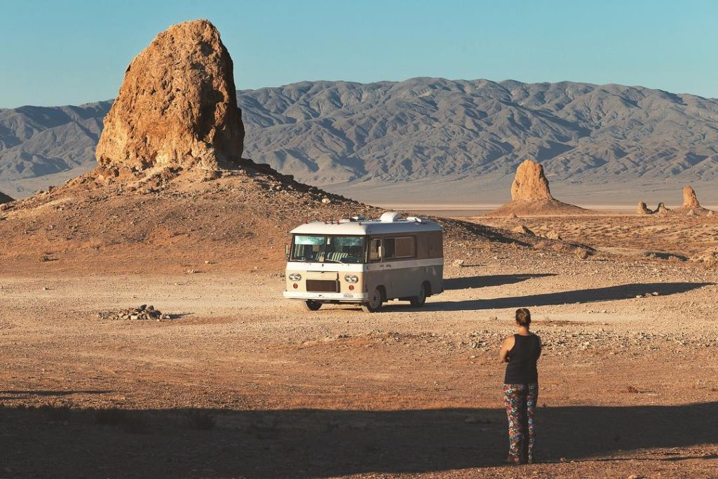 RV In the Desert