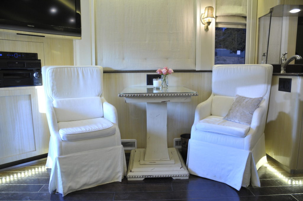 Kellie Pickler custom RV interior