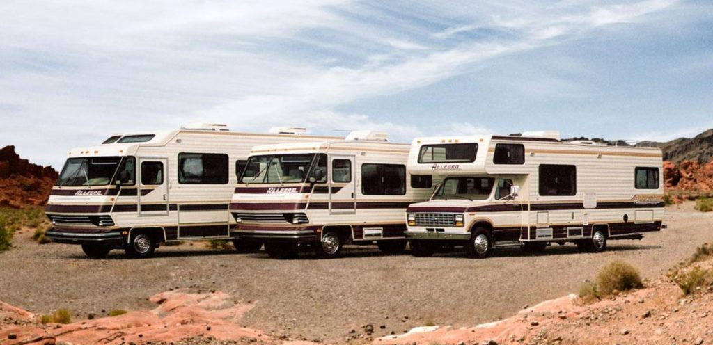 Retro Tiffin RV lineup