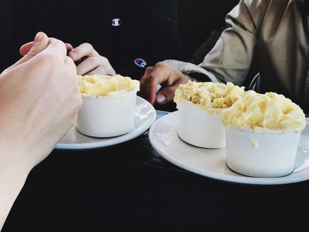 cups of mashed potatoes runneth over