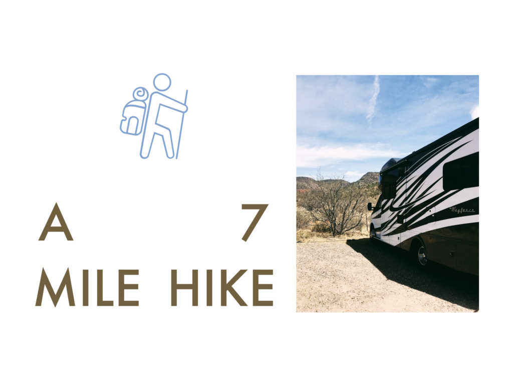 1+6 with Mike on a Hike