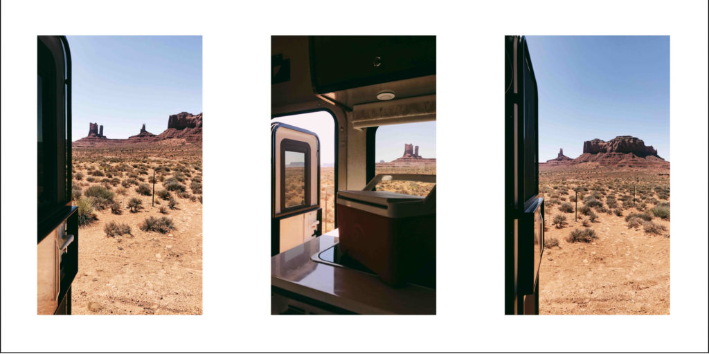 RVing in Monument Valley