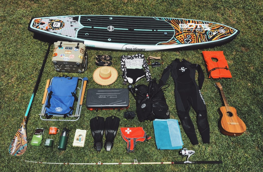 Outdoors adventure kit for Florida