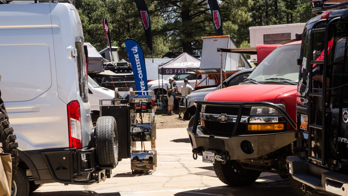 We Took a Winnebago Travato to the Overland Expo West in