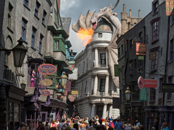Harry Potter Theme Park Orlando Florida