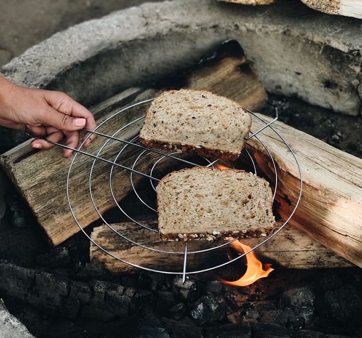 How to make all natural cave man toast
