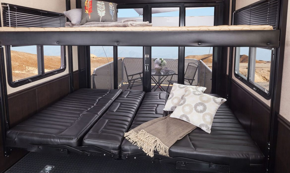 How-To Video: 5th Wheel Garage Bed