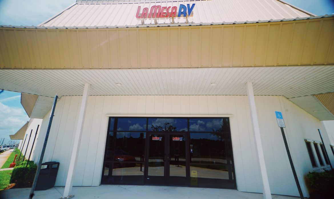 Inside The La Mesa RV Port St. Lucie Store