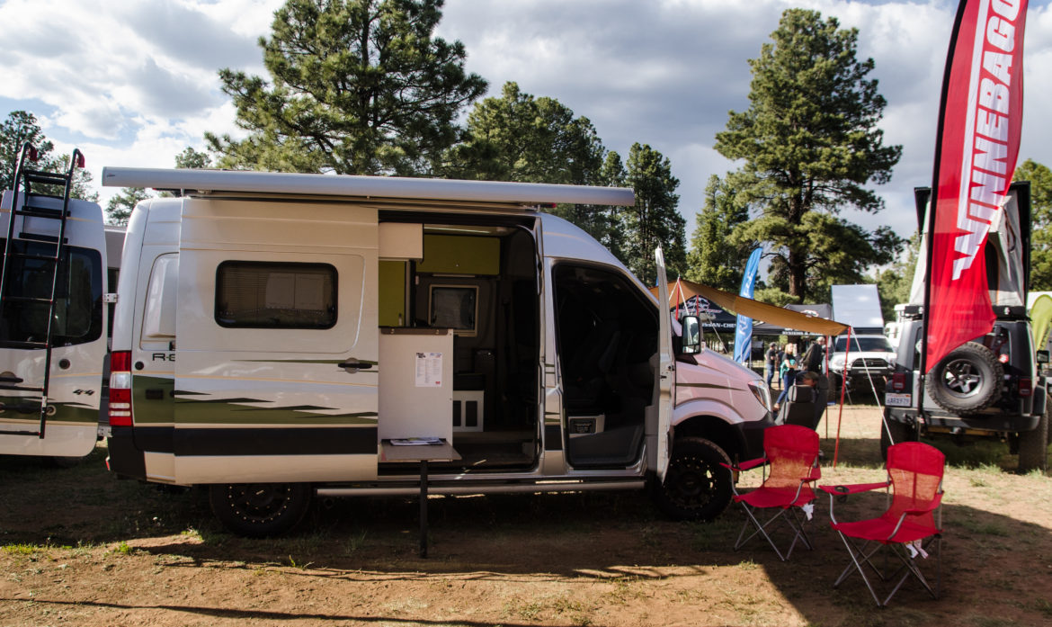 We Took a Winnebago Travato to the Overland Expo West in Flagstaff