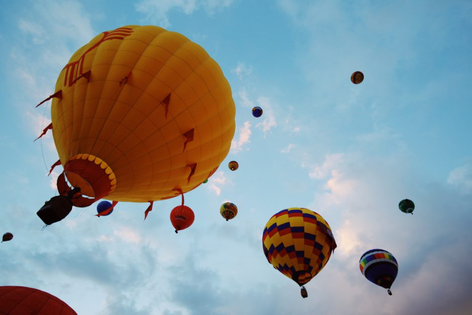 La Mesa RV's Albuquerque International Balloon Fiesta Giveaway: Enter A Chance to Win A Balloon Ride!