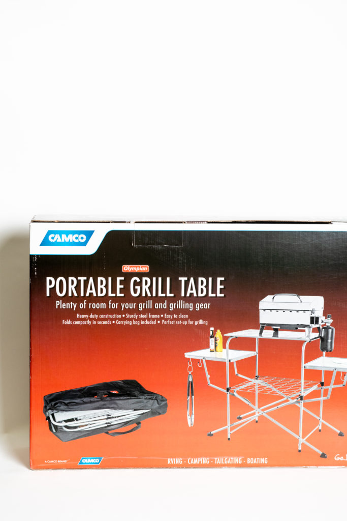 Camco Portable Grill Table