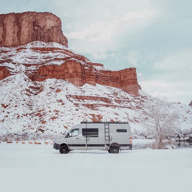 RVing this Winter Season with Snow! Right in time for Christmas