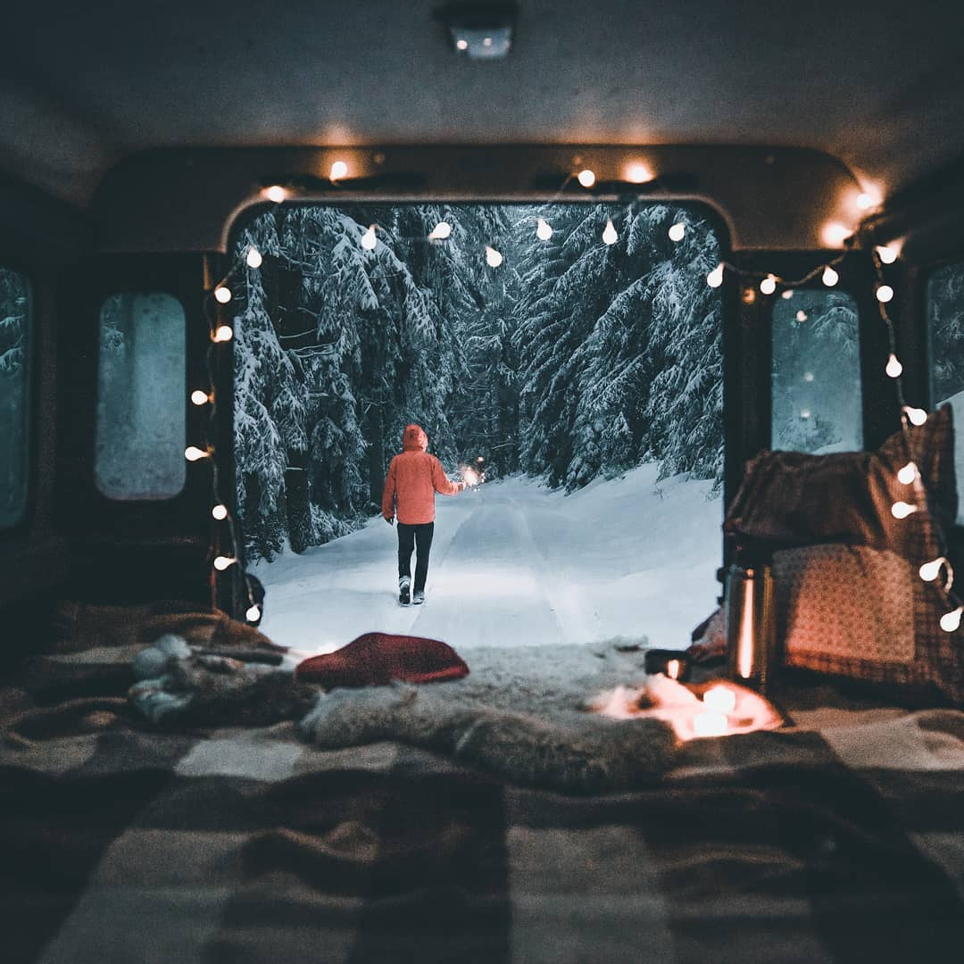 Everything you need to know about RVing this winter. Snow, camping, hiking and your winterization needs