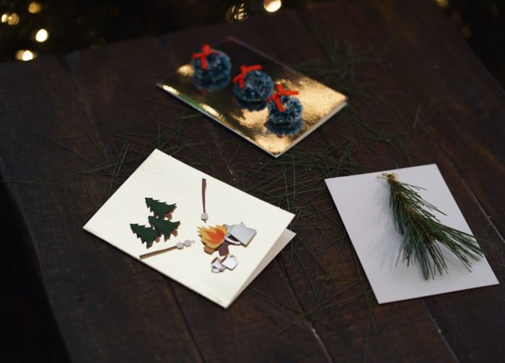 It's Christmas Card Day! Here's 3 Camp Inspired DIY's to Get You in the Holiday Spirit