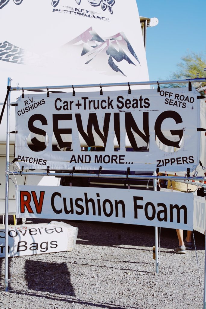 RV or off road vehicle need fixing up? Visit this Quartzsite shop for all your upholstery and service needs.