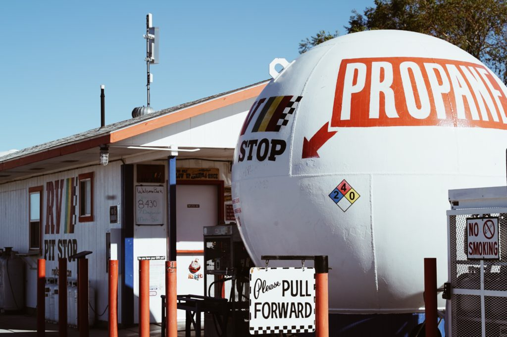 Your one stop shop for propane fill-ups, sewage dumps and RV accessories in Quartzsite, Arizona