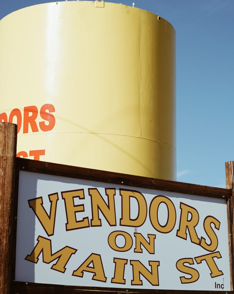 Vendors on Main St. - Where to shop when in Quartzsite, Arizona