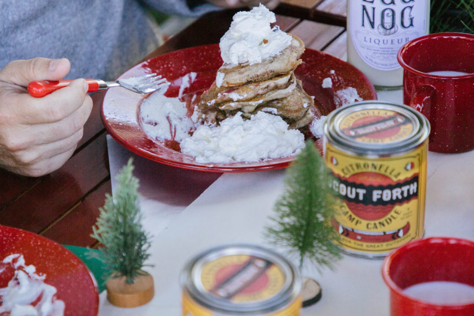 We Hosted A Campsite Christmas and Here's How We Celebrated
