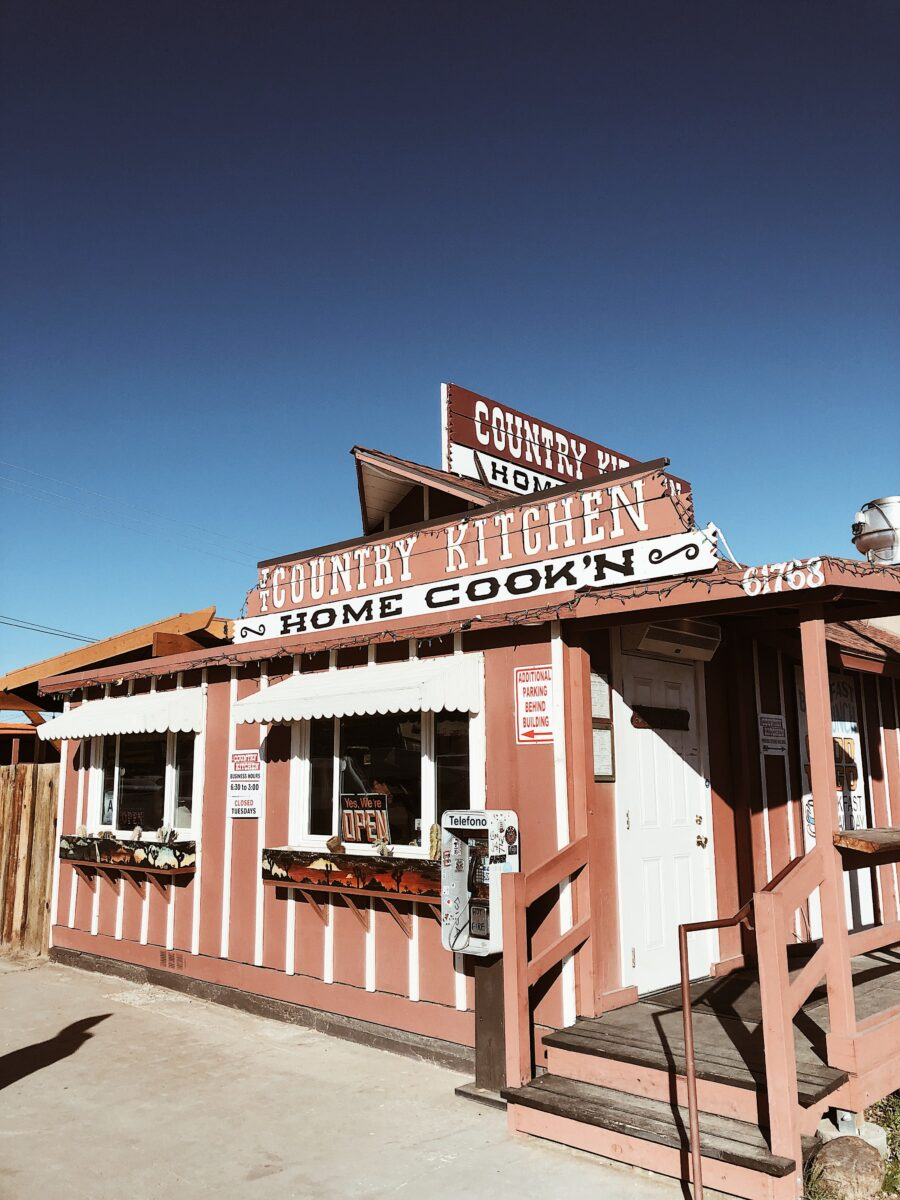 Best home cooking in Joshua Tree California
