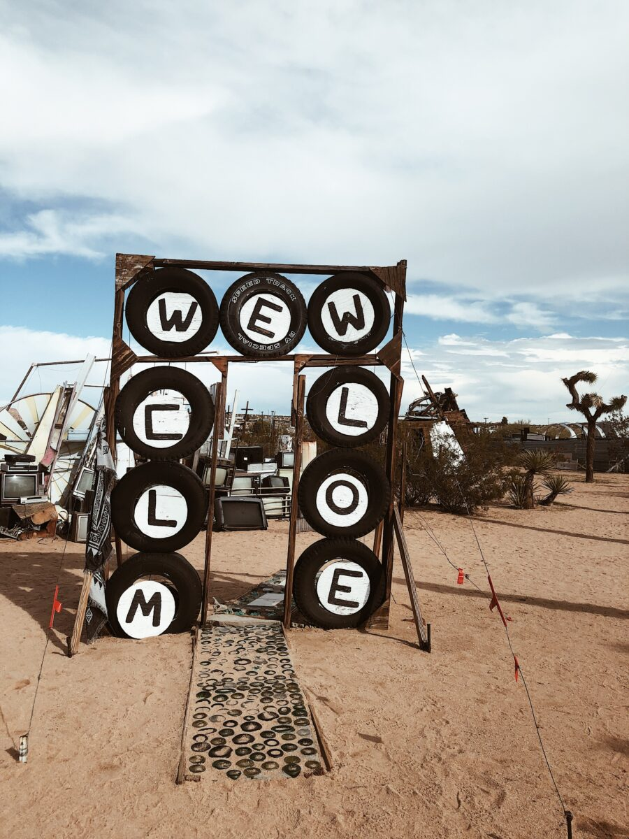 Noah Purifory Outdoor Art Joshua Tree
