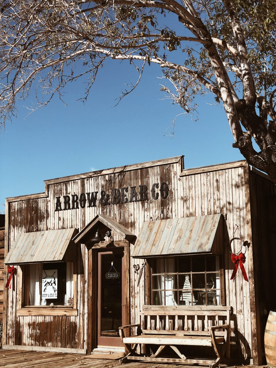 Shop in the Wild West: Pioneertown, California