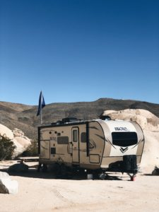 Indian Cove Campground in Joshua Tree National Park