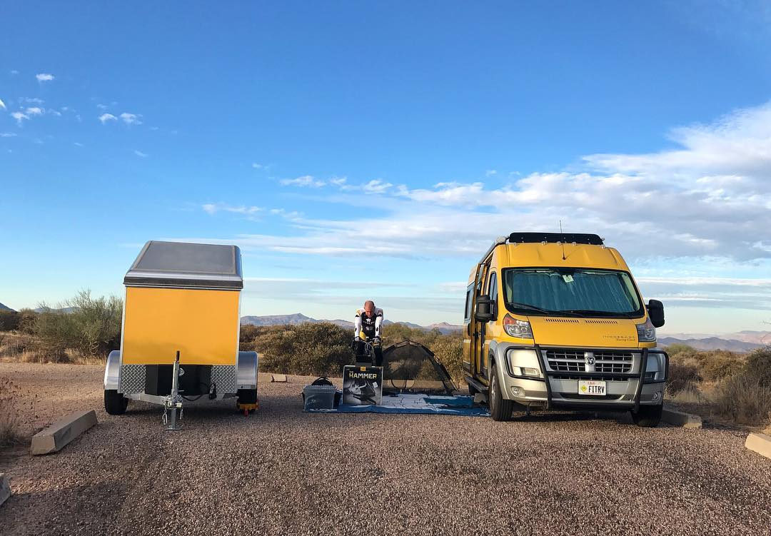 How to stay fit on the road with fitness duo The Fit RV