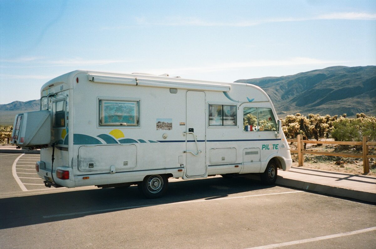 rv joshua tree national park. government shutdown