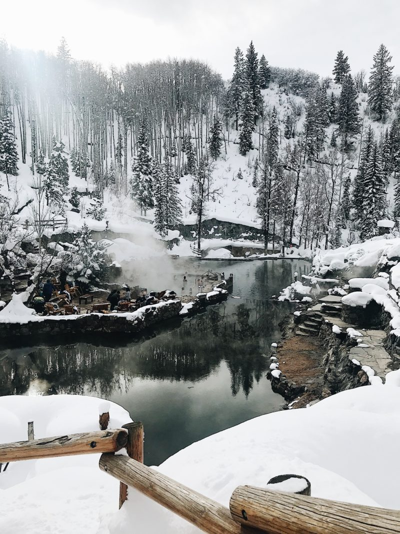 Most beautiful hot springs in Colorado