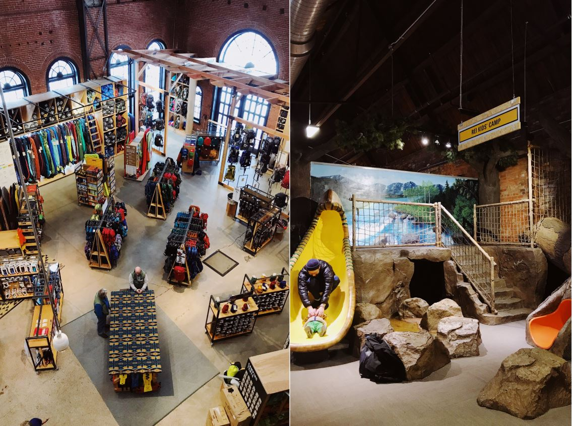 The best outdoor retail store is REI in Denver Colorado