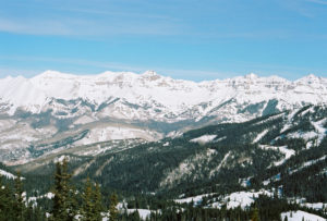 Telluride ski resort in Colorado