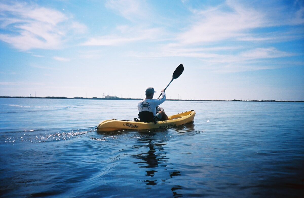 Get sweaty this spring! Kayaking is an excellent free activity that is also extremely fun