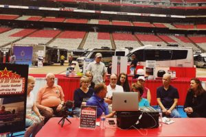 Super B show, RV lifestyle guru's share all on their live recorded podcast