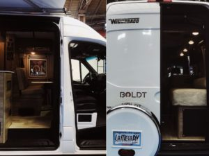 Newest Class B RV from Winnebago