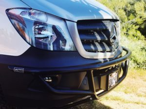 the best front bumper for your Class B RV