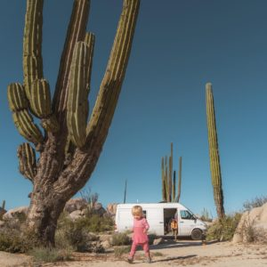 Family of three RVing across the country