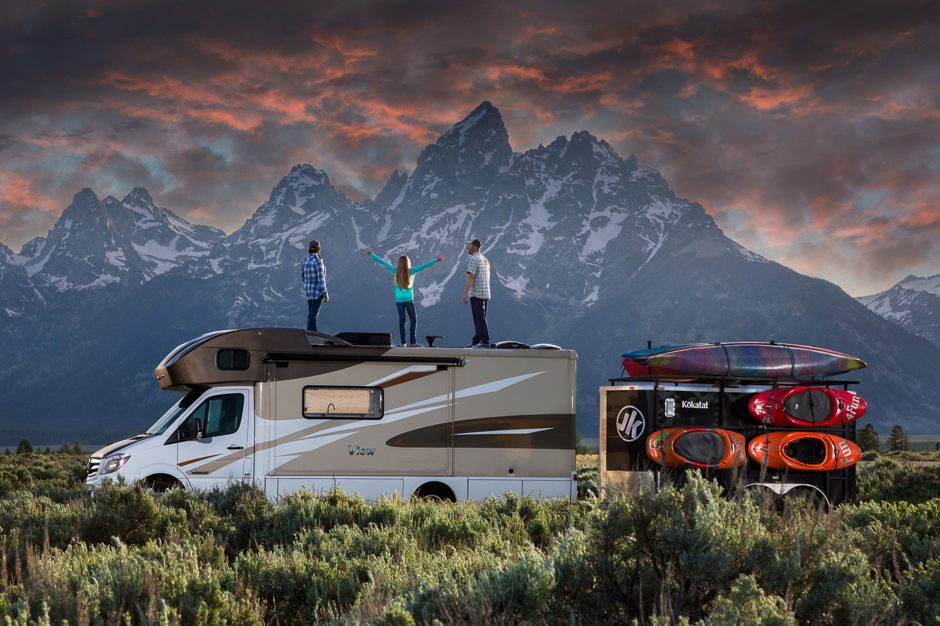Meet the Holcombe's and Tour Their Winnebago Revel