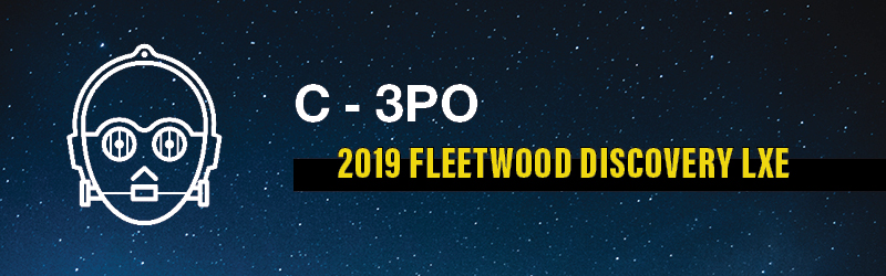 C-3PO's Favorite RV: Fleetwood Discovery