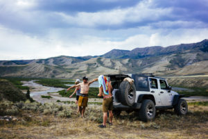 fly fishing, things to do in Jackson