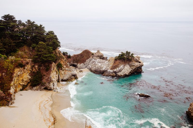 summer road trip, California