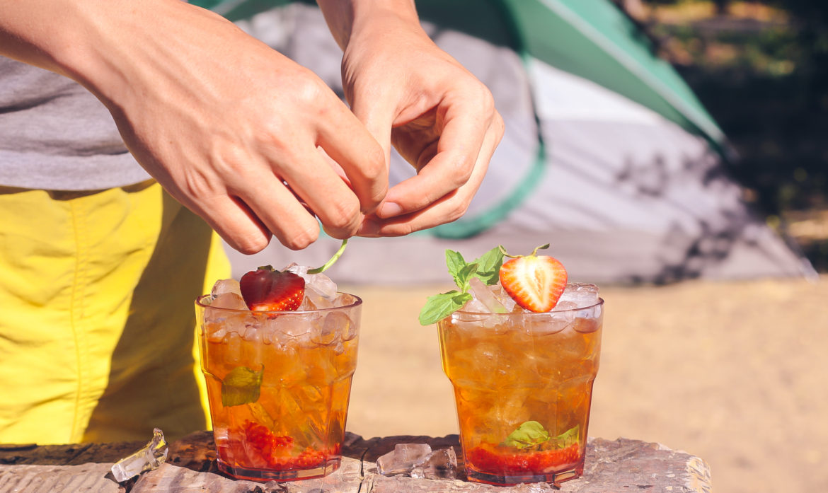 Campsite Cocktail Series: The Easiest Summer Scotch Recipe