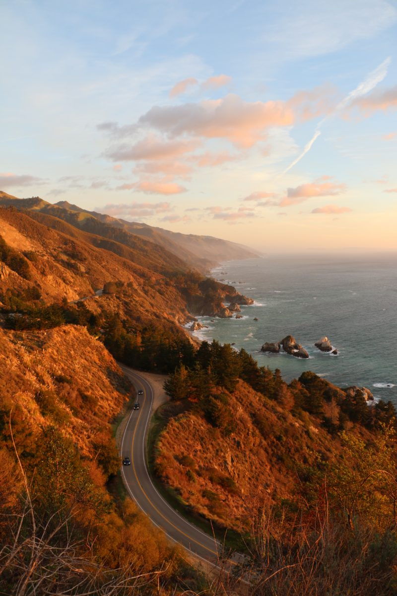 highway 1, Pacific Coast Highway, RV drives