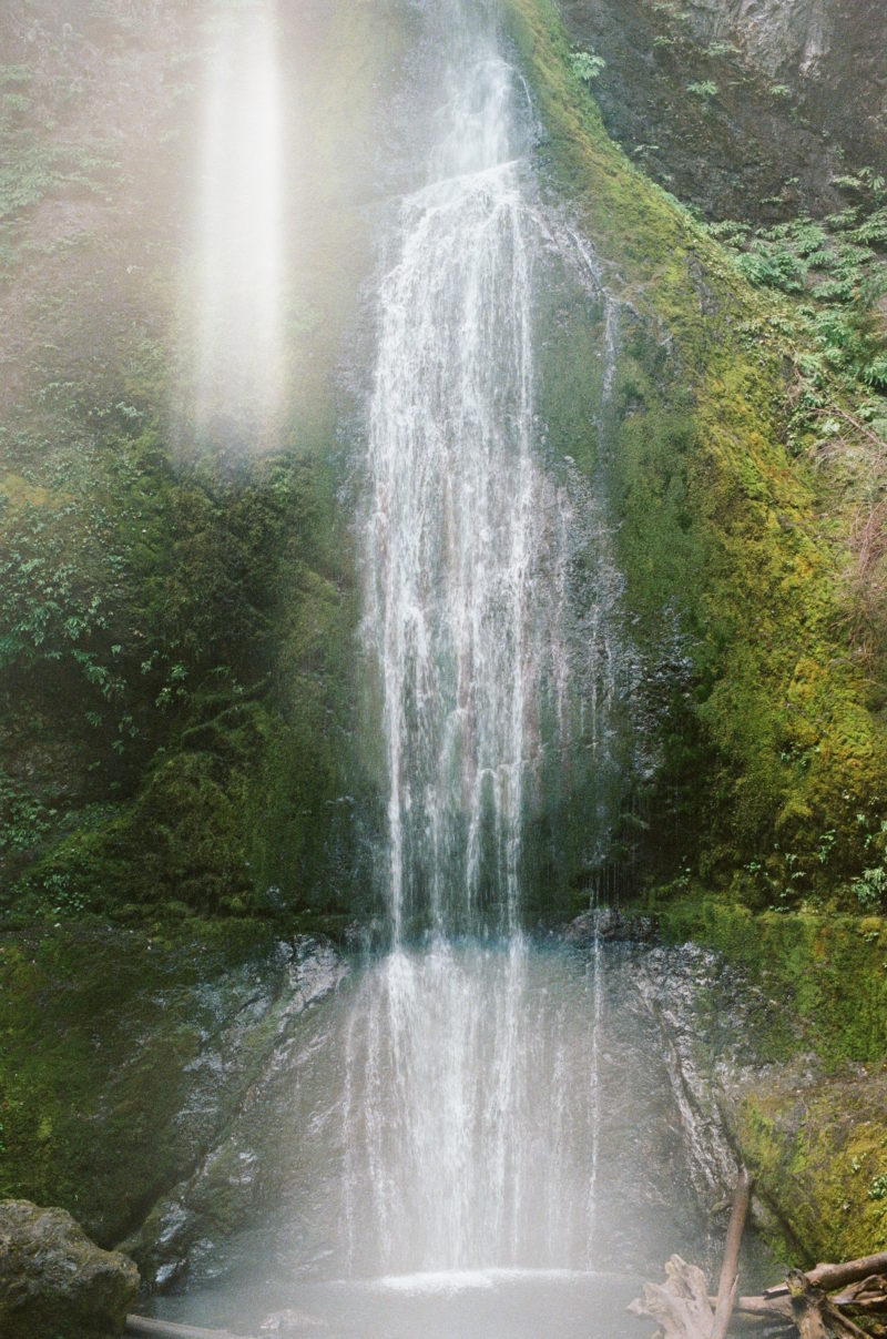 best waterfall hike in olympic national park